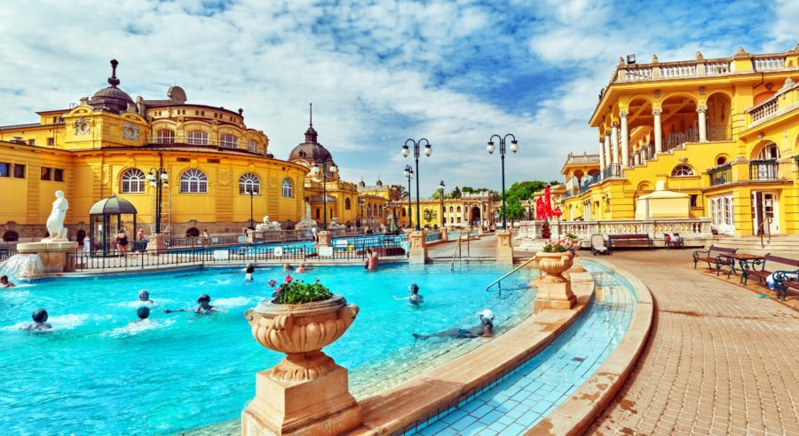 Thermal Baths at Budapest
