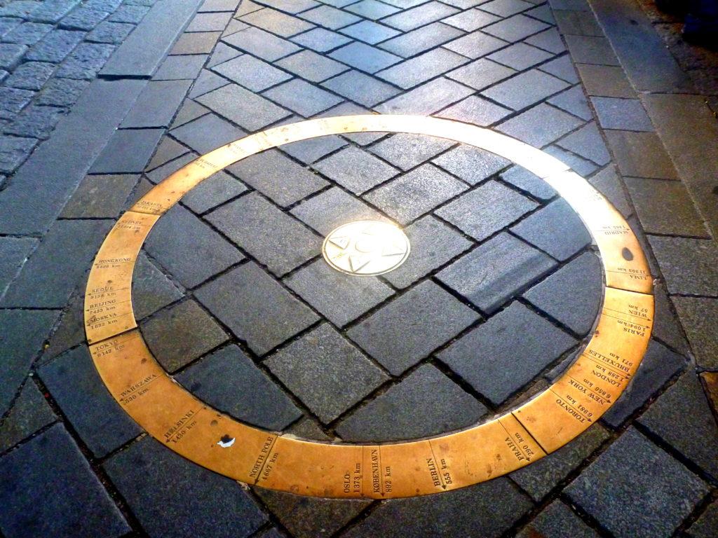 Kilometer Zero Circle!
