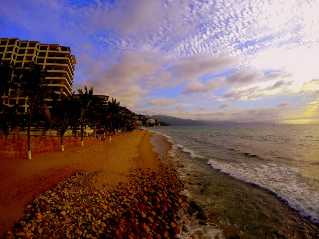 Broad walk at Puerto Vallarta