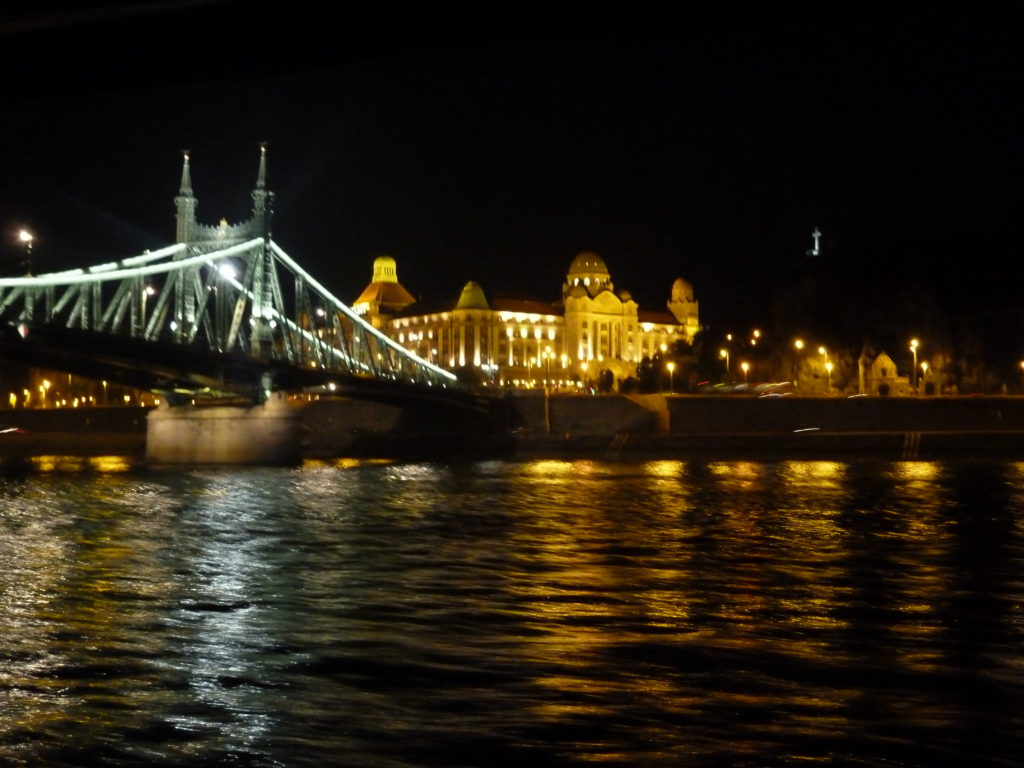 View from the cruise at Danube River